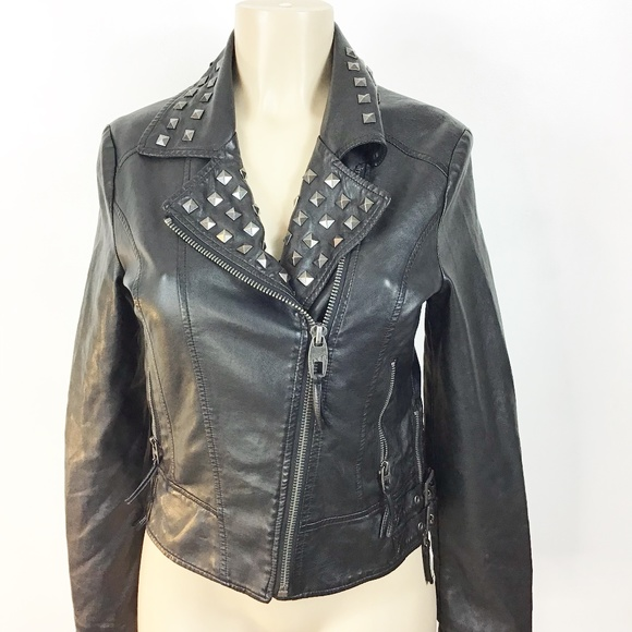 cfc2a35c07208 Miss Sixty Jackets & Coats   Womens Motorcycle Jacket Size Small ...